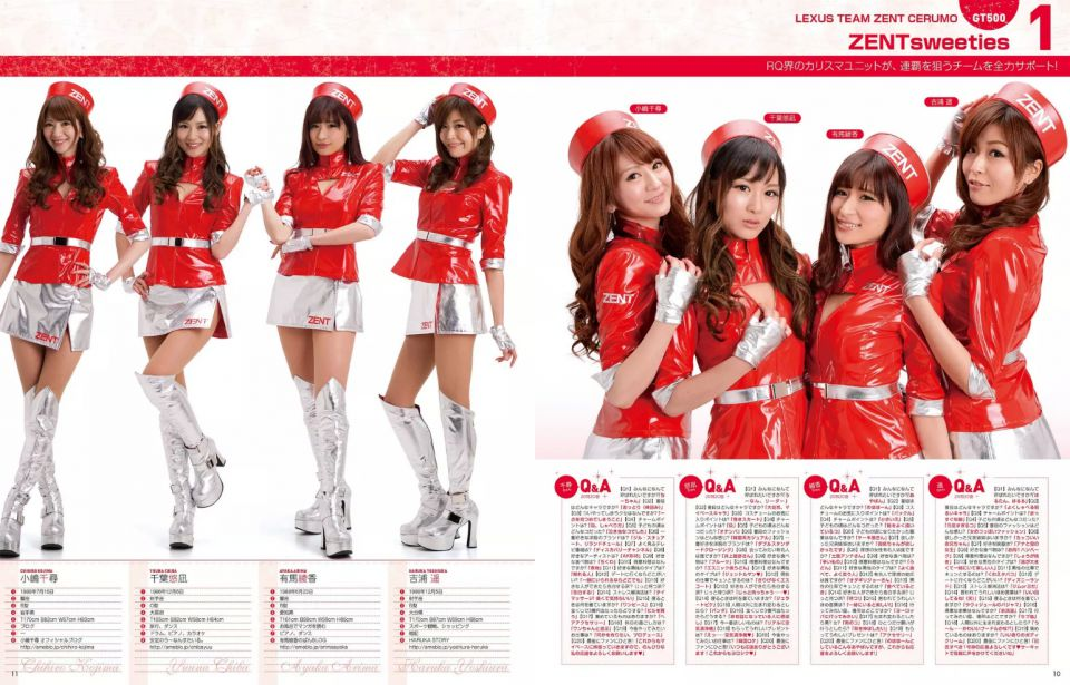 Gals Paradise Racequeen Guide 2014