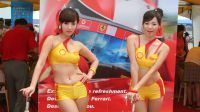Shell Oils Promo Girls