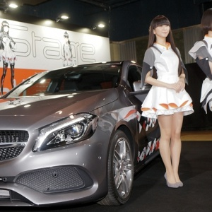CG Versions of Perfume Dance for Mercedes-Benz